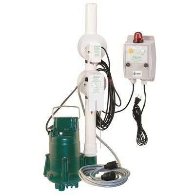 115 Volts 1/2 HP MAN Effluent Pump With Switch