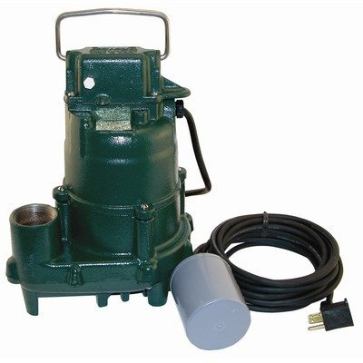 1/3 HP 115 Volts HH Effluent PUMP With Variable Level Float Switch