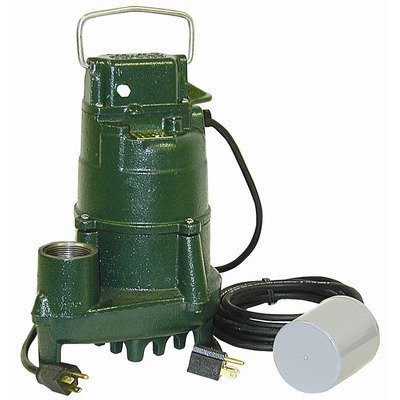 115 Volts 4/10 HP HH Effluent PUMP With Variable Level Float Switch