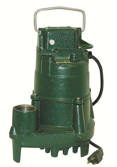 1/2 HP 115 Volts Manual Effluent Pump