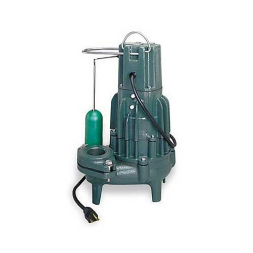 1/2 HP 115 Volts Cast Iron AUTO Sewage PUMP