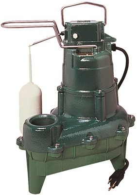 .4HP 115 Volts Cast Iron AUTO Sewage PUMP