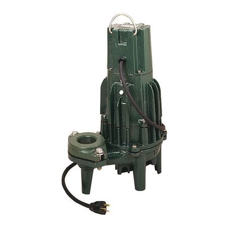 1/2 HP 115 Volts Manual Effluent Pump