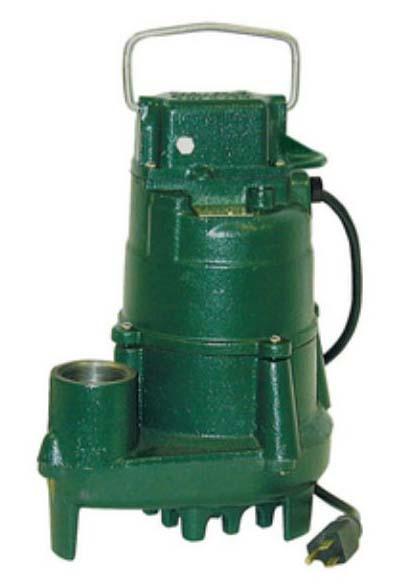 1/2 HP 115 Volts MAN Effluent Pump With 20 Cord