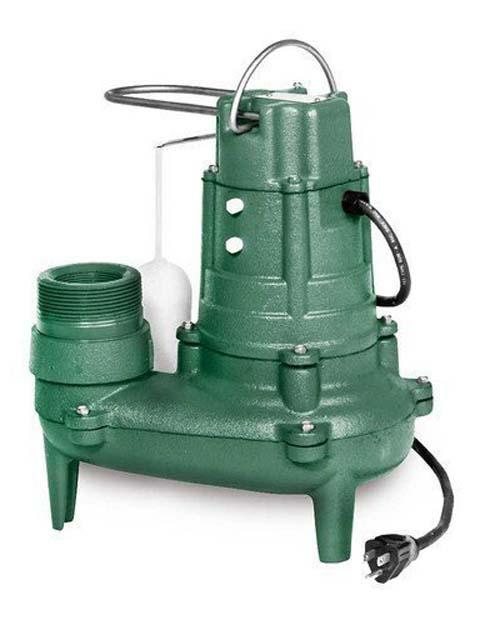1/2 HP 115 Volts Cast Iron Non Auto Sewage Pump