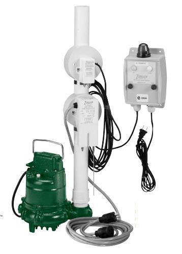 1/2 HP 15A Oil Guard Pump Switch Panel
