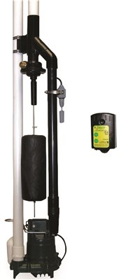 ZOELLER HOME GUARD MAX WATER POWERED EMERGENCY BACKUP SUMP PUMP WITH ALARM