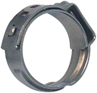 1 STAINLESS STEEL PRE-CRIMPED RING