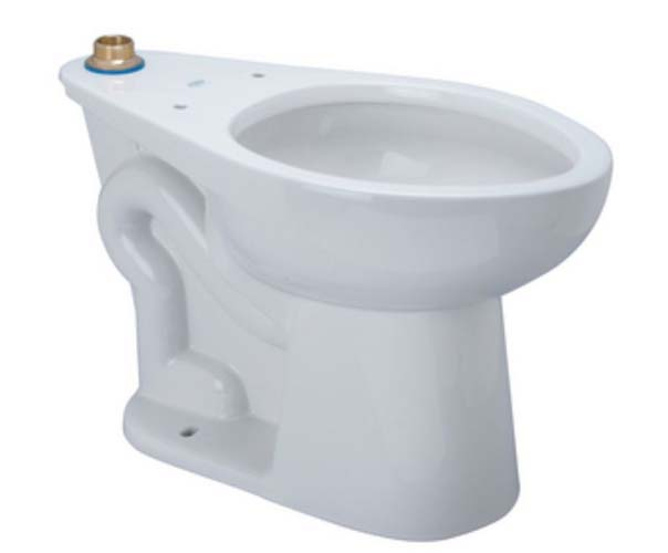 California Energy Commission Registered 1.28 Gallons Per Flush ADA Floor Mount ELONG BOWL