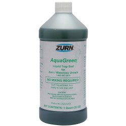 32OZ Bottle AQUA Green Waterless Urinal Seal