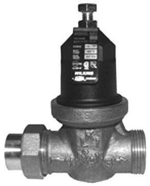 WILKINS MODEL NR3 PRESSURE REDUCING VALVE WITH INTEGRAL BYPASS CHECK VALVE AND STRAINER, 3/4 IN., LEAD FREE