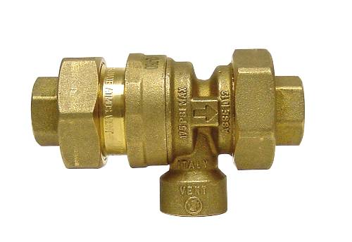 ZURN WILKINS 760 SERIES DUAL CHECK VALVE BACKFLOW PREVENTER WITH ATMOSPHERIC VENT, 1/2 IN. FNPT X 1/2 IN. FNPT, BRONZE