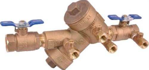 WILKINS DOUBLE CHECK VALVE BACKFLOW PREVENTER 1 IN., LEAD FREE