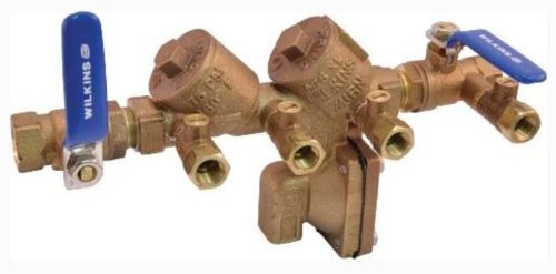 REDUCED PRESSURE BACKFLOW PREVENTER 3/4 IN., LEAD FREE