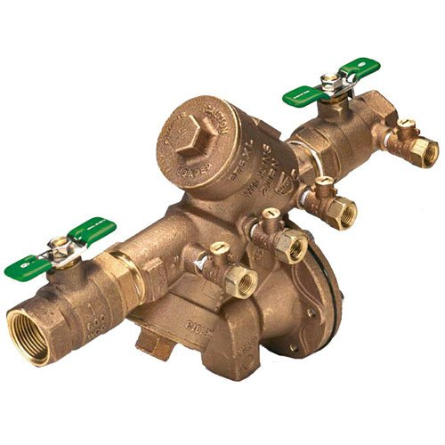 REDUCED PRESSURE BACKFLOW PREVENTER 1 IN., LEAD FREE