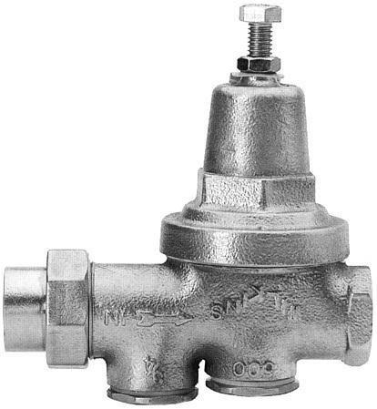 WILKINS WATER PRESSURE REDUCING VALVE 1 IN. LEAD FREE