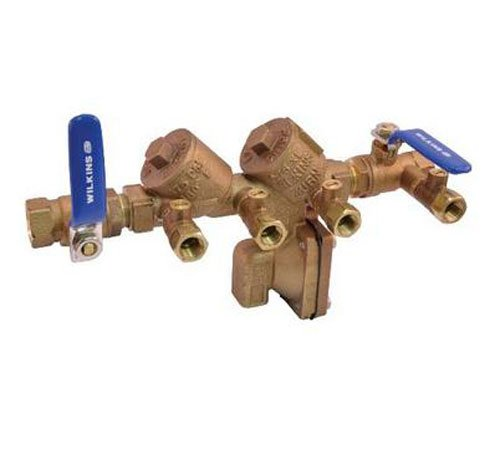 REDUCED PRESSURE BACKFLOW PREVENTER 1-1/2 IN., LEAD FREE