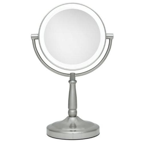 7in LED LIGHTED VANITY MIRROR 1X/5X