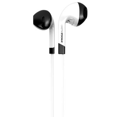 Intone Earbud with Mic White