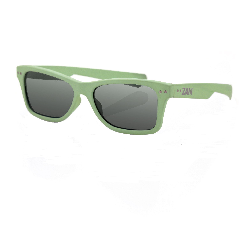 Zanheadgear Trendster Sunglass w/Mint Frame-Smoked Lenses