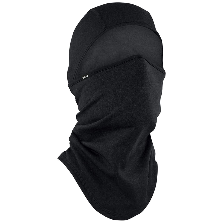ZanHeadgear Convertible Balaclava Black