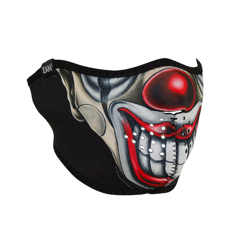ZanHeadgear Neoprene Half Face Mask Chicano Clown