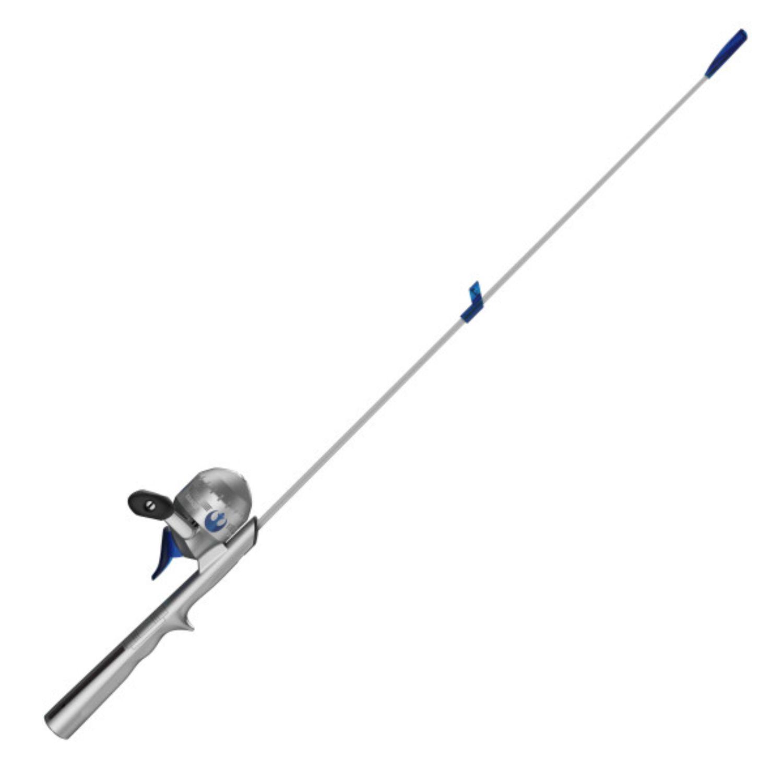 Zebco StarWars Rey 29 In Spincast Lighted Combo 6LB Line