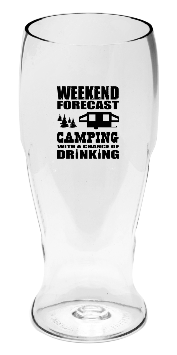 Camping Forecast EverDrinkware Beer Tumbler