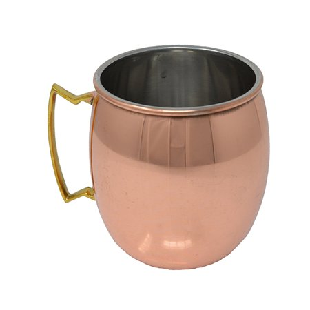 16 oz Copper Clad Moscow Mule Mug - Smooth