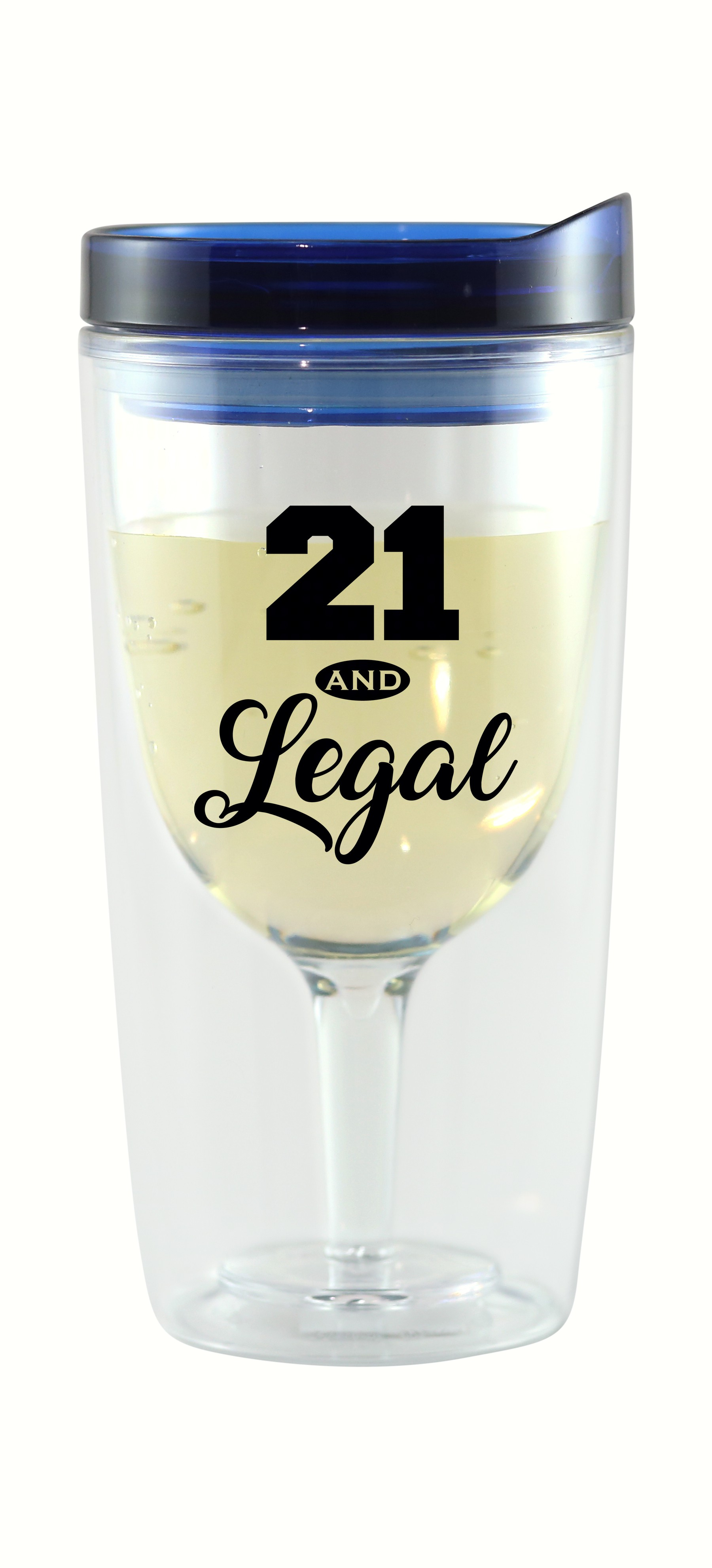 21 & Legal Vingo Wine Tumbler