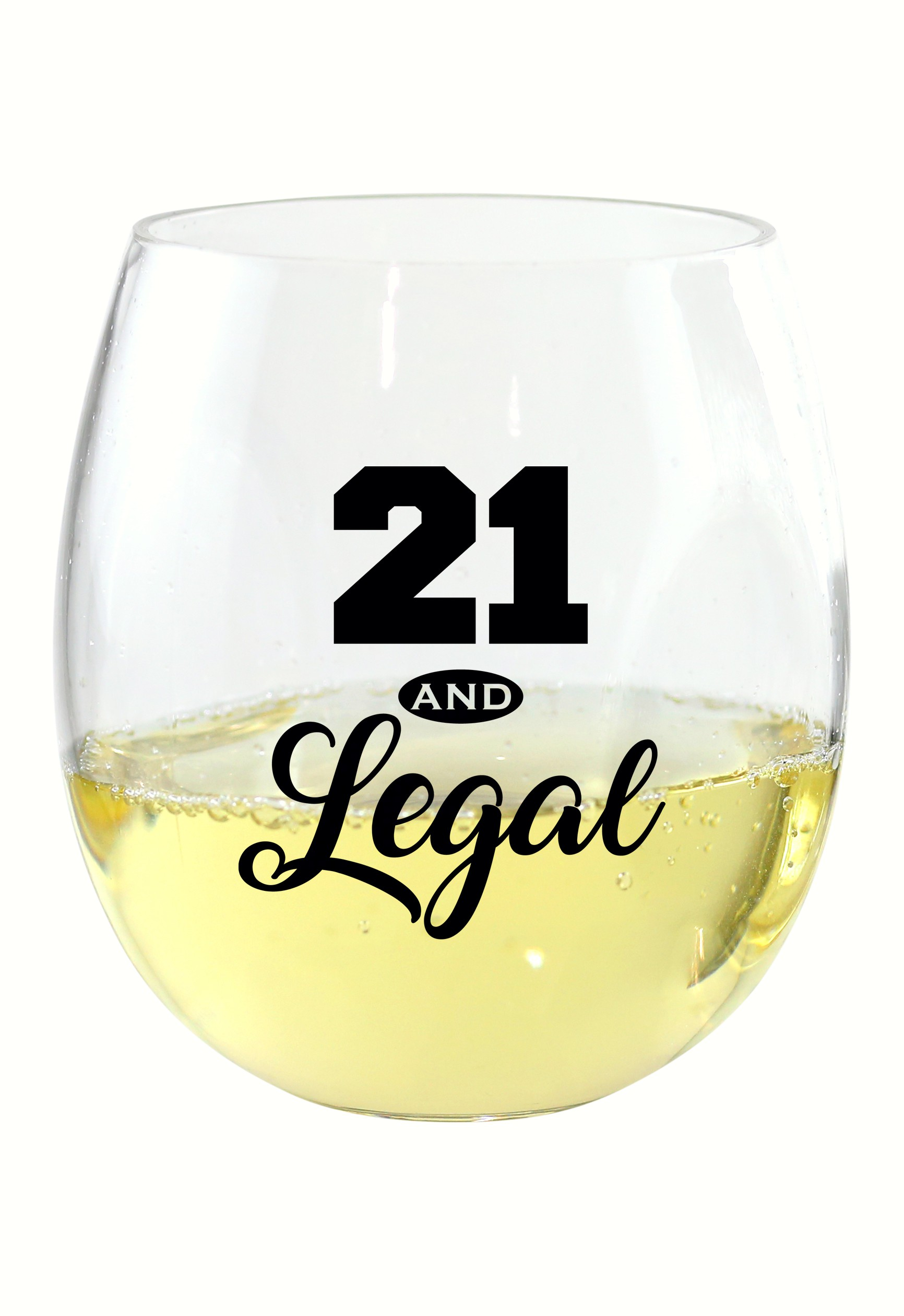21 & Legal EverDrinkware Wine Tumbler