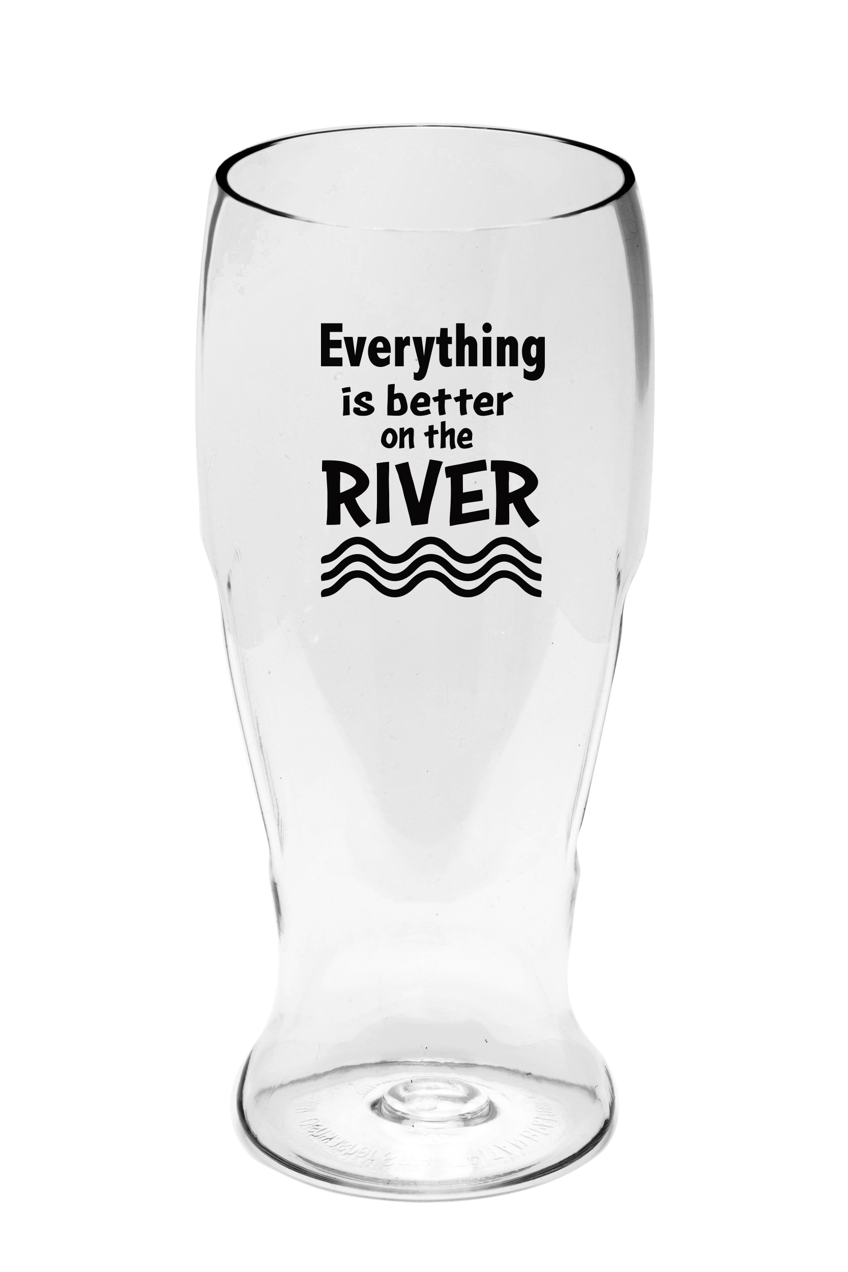 Everything is Better on the River Ever Drinkware Beer Tumbler