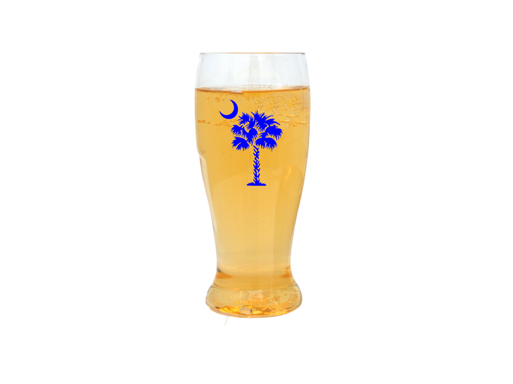 Blue Palmetto Tree EVER Drinkware Beer Tumbler