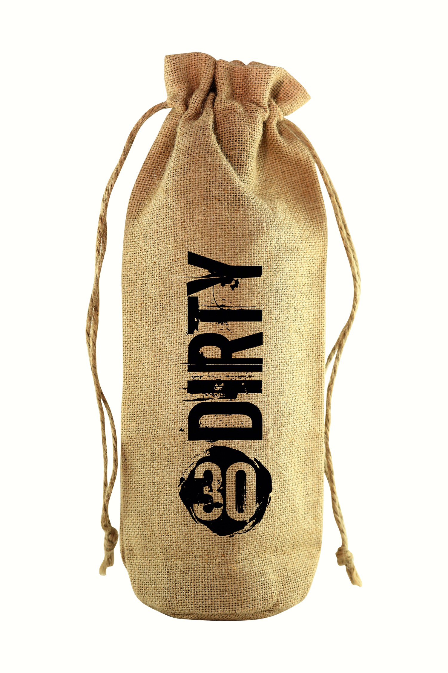 30 Dirty Jute Wine Bottle Sack
