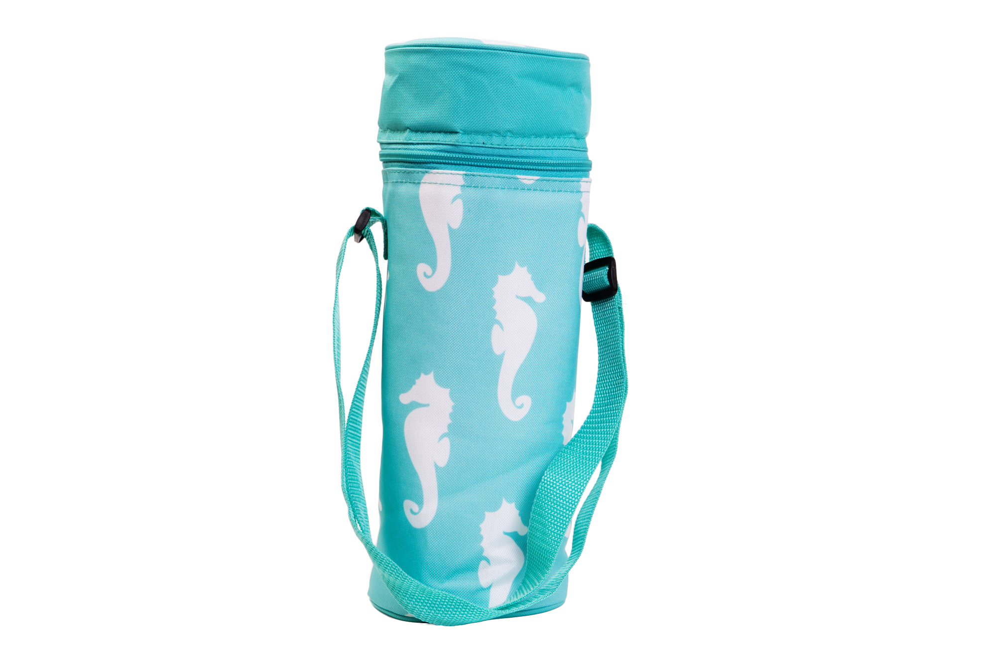 Insulated Wine Tote - Seahorses