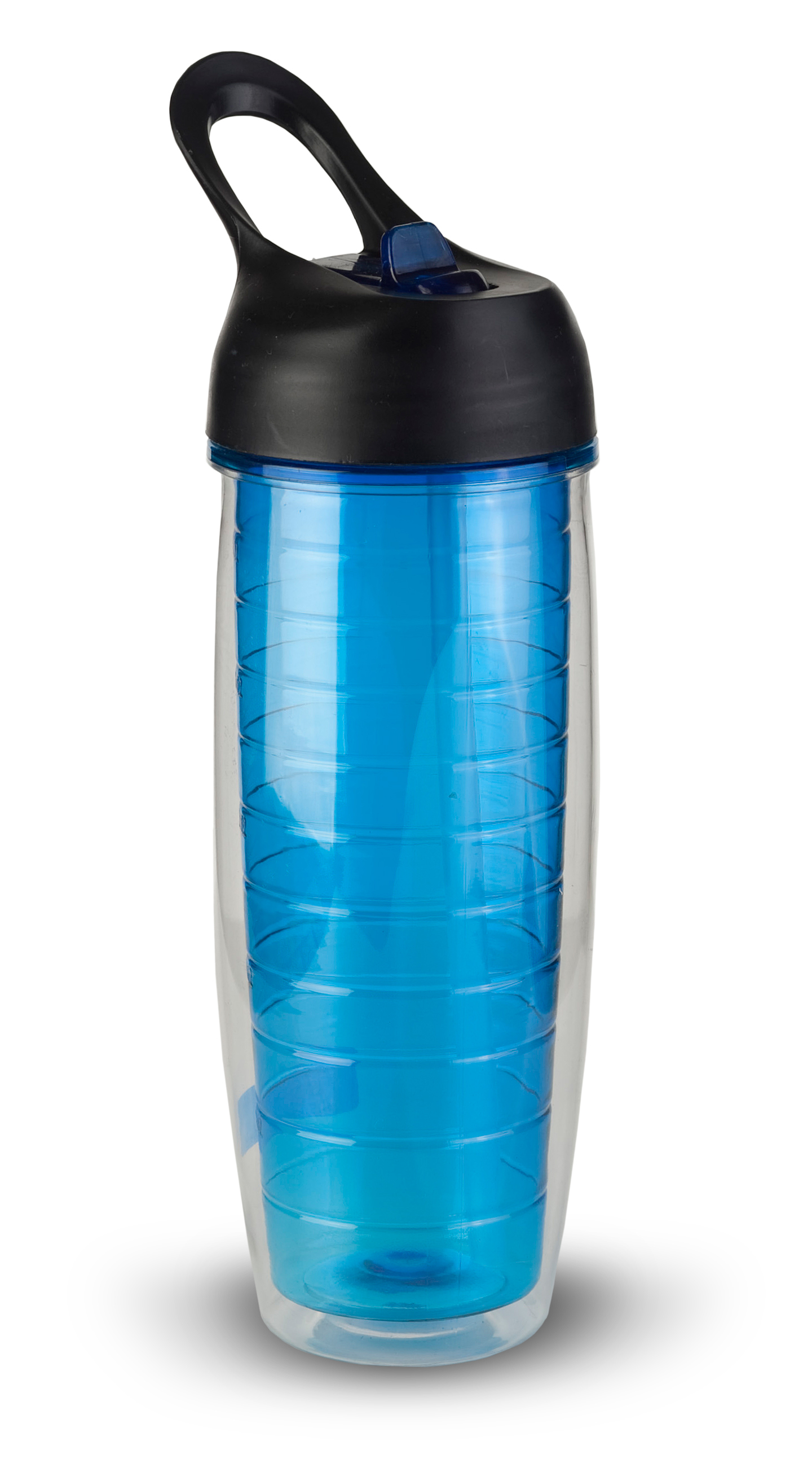 Thirzt 2 Go 20Oz Tritan Double-Walled Insulated Bottle - Blue