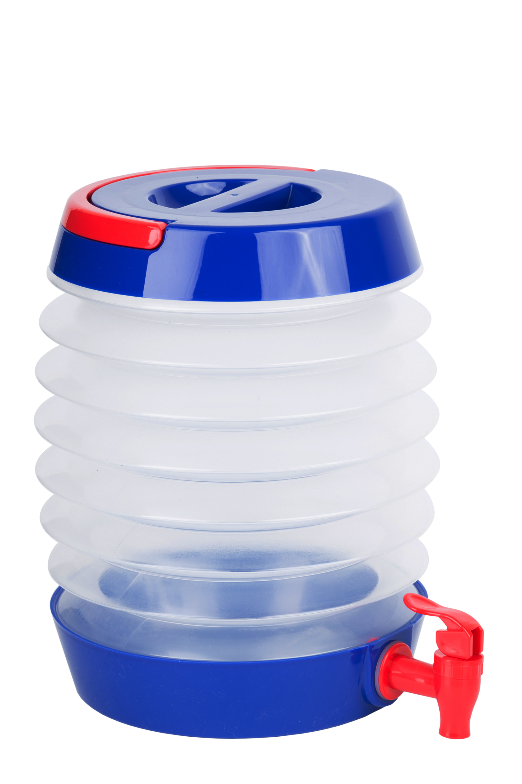 Collapsible Beverage Dispenser Blue/Red