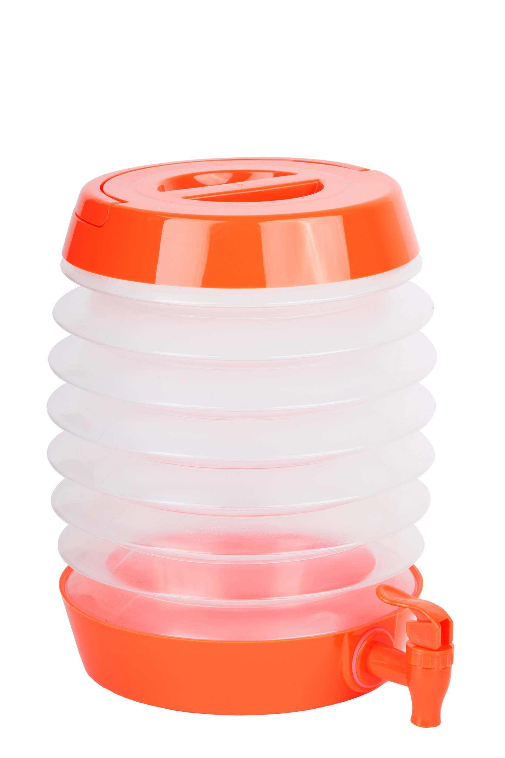 Collapsible Beverage Dispenser Orange