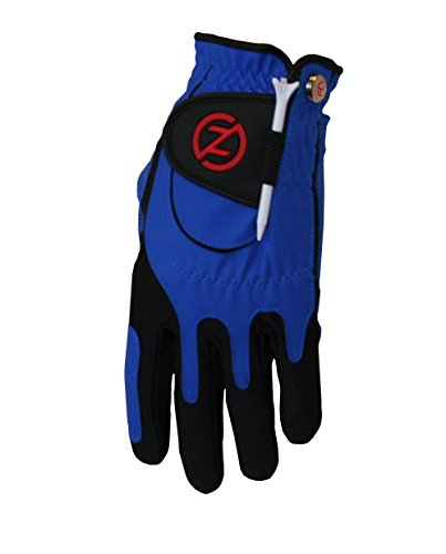 Zero Friction Performance Men's Golf Glove Left Hand Blue