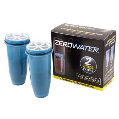 2 Pk Filters Trav Botle Blu Wh