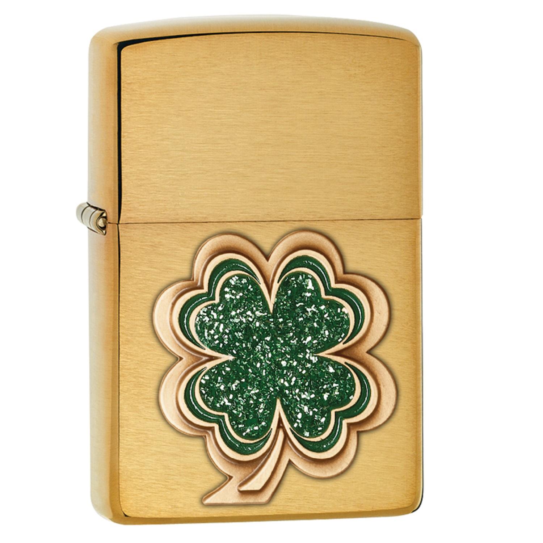 Zippo Shamrock Pocket Lighter 28806