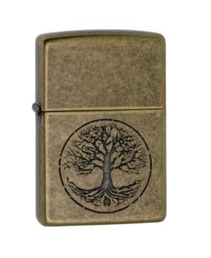 Zippo Tree of Life Pocket Lighter-Antique Brass Finish 29149