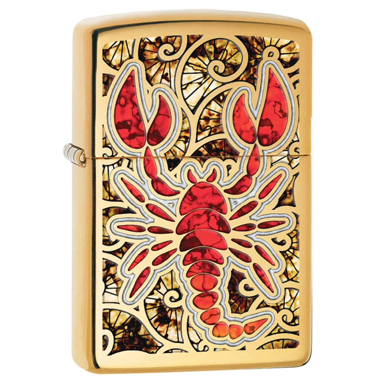 Zippo Scorpion Shell Pocket Lighter 29096