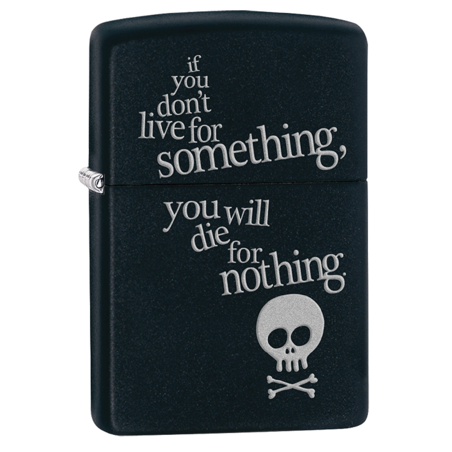 Zippo Live for Something Pocket Lighter 29091