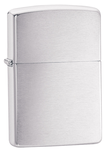 Brushed Chrome Pocket Lighter