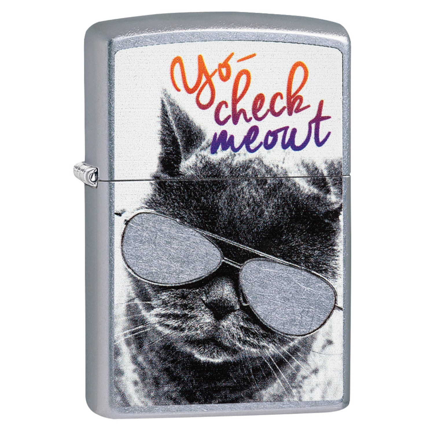 Zippo Cat with Glasses Lighter
