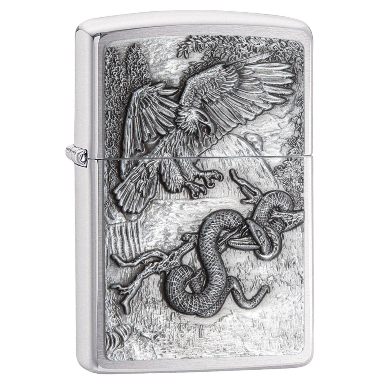 Zippo Eagle vs. Snake Lighter