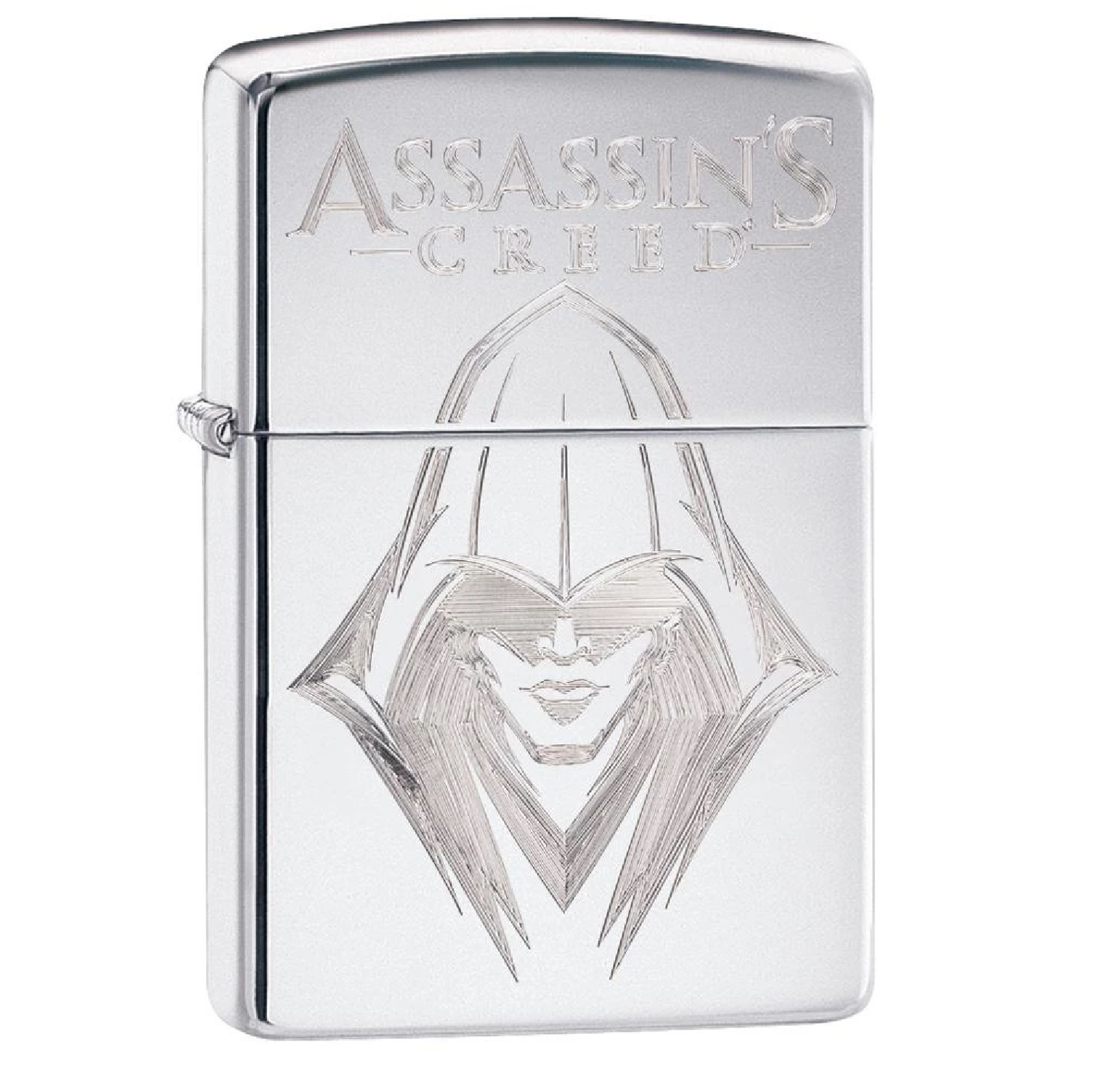 Zippo HP Chrome Assassins Creed Lighter