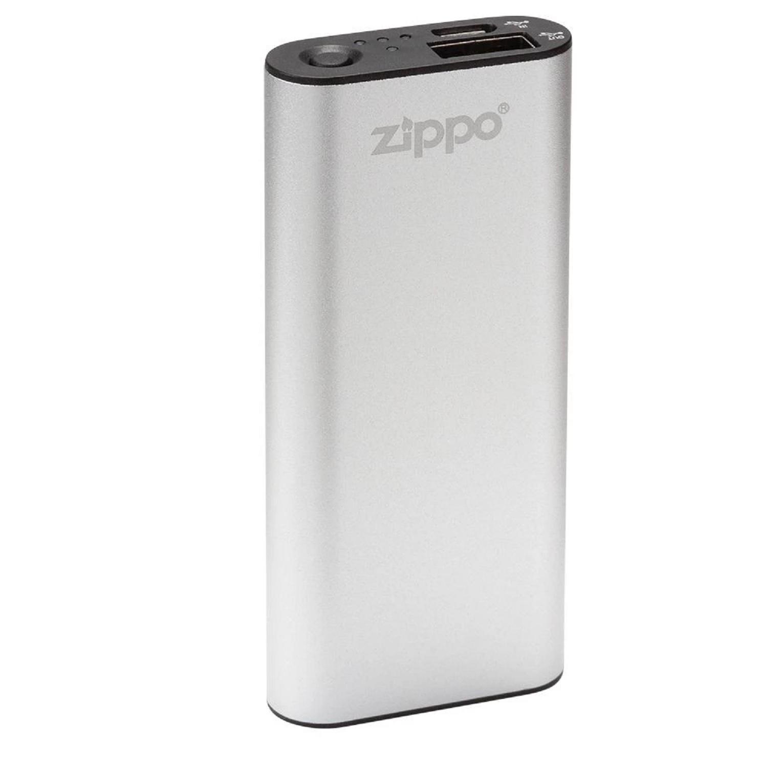 Zippo Silver HeatBank 3 Rechargeable Hand Warmer