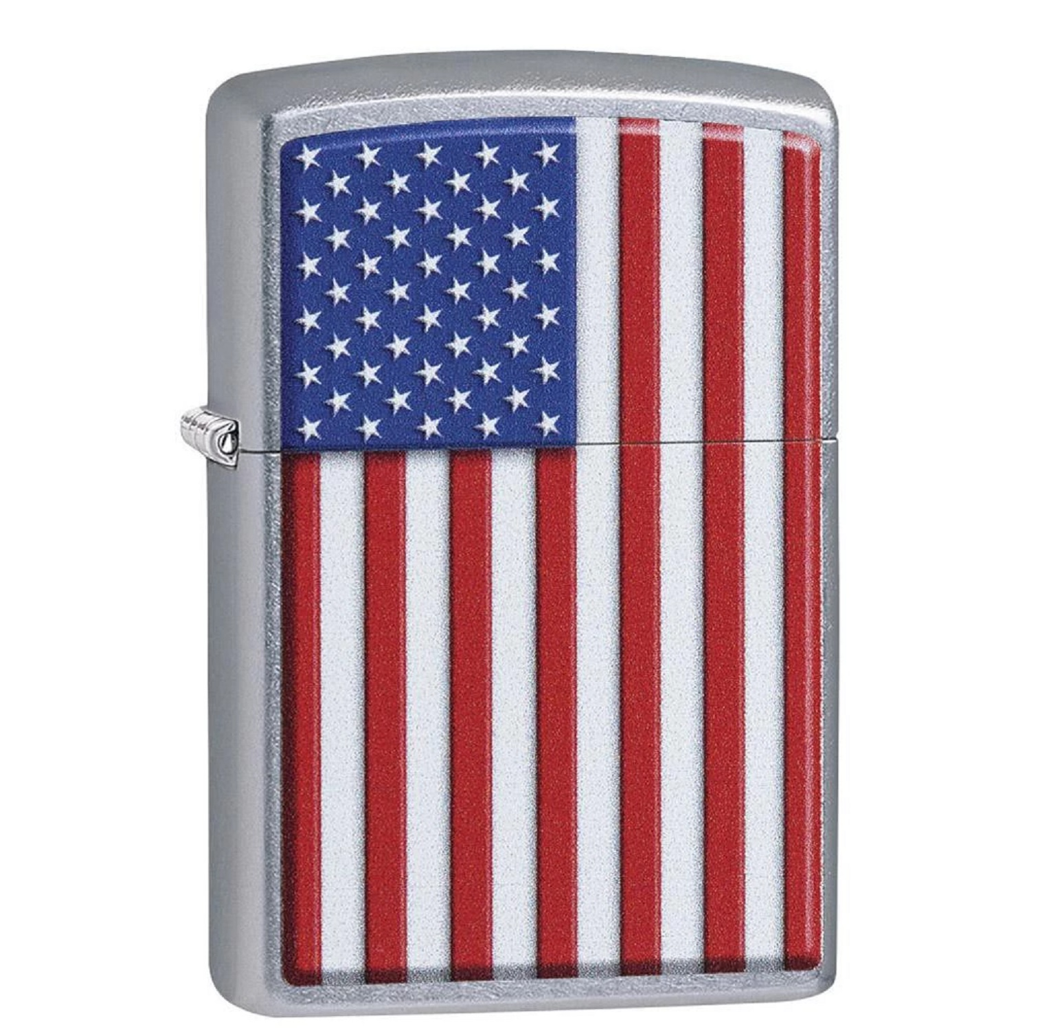 Zippo Street Chrome Patriotic Lighter